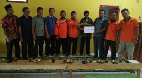 Karang Taruna Ciamis Lampung Utara Serahkan Dana  Bantuan Lombok Melalui UAR