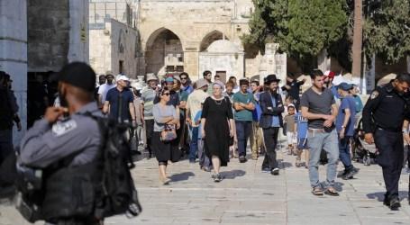 Anggota Knesset dan Pemukim Israel Masuki Al-Aqsa