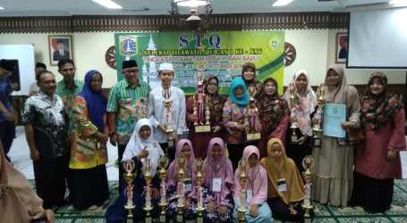 Cipete Utara Juarai Seleksi Tilawatul Quran Kecamatan Kebayoran Baru