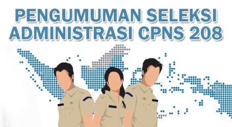 Pidie Jaya, 314 Pelamar CPNS Tidak Lulus Administrasi