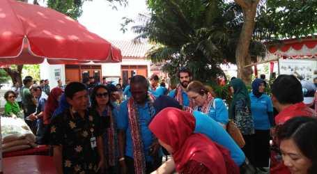 Delapan Negara Perwakilan Tetap FAO Belajar tentang Pertanian Indonesia