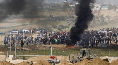 Serangan Israel Berlanjut di Jalur Gaza Tengah