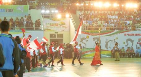 Indonesia di Posisi Pertama Klasemen Sementara ASEAN University Games 2018
