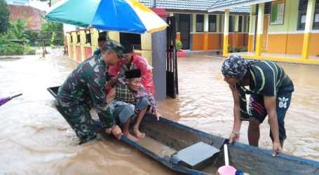 Pasca Tsunami, Serang Kembali dilanda Banjir