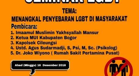 Pesantren Al-Fatah Adakan Seminar Tolak LGBT