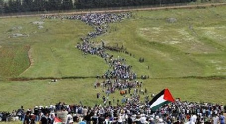 Aksi Massa Palestina Kembali Digelar Pekan ke-38