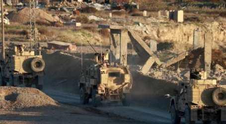 AS Perkuat Pangkalan Militernya di Timur Sungai Eufrat