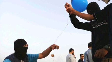 Serangan Balon Gaza Dibalas Serangan Udara