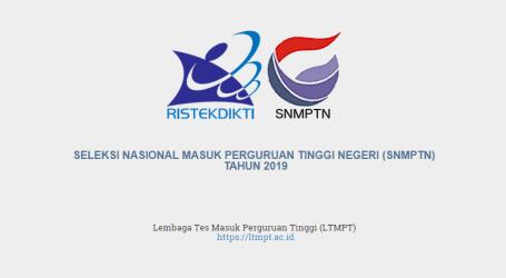 Hasil SNMPTN 2019 Diumumkan Jumat 22 Maret