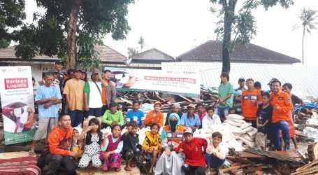 Majelis Taklim Telkomsel Salurkan Bantuan Tahap Awal Korban Tsunami Selat Sunda