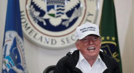 Trump Beri Sinyal Darurat Nasional untuk Membangun Dinding Perbatasan