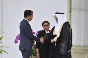 Dubes Baru Arab Saudi Serahkan Surat Kepercayaan kepada Presiden
