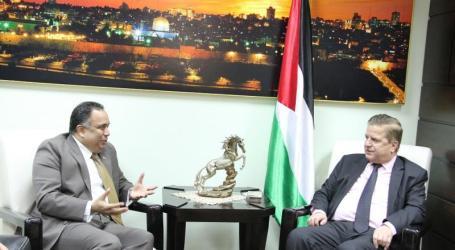 Menkes Palestina dan Dubes India Bahas Pendirian Rumah Sakit
