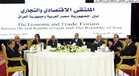 Mesir-Irak Hadir dalam Forum Ekonomi Bersama