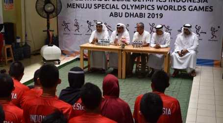 Dubes UEA Kunjungi Atlet Olimpiade Khusus Indonesia di Jakarta