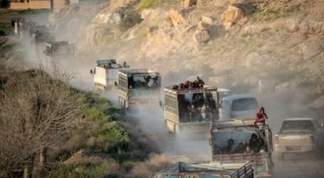 Evakuasi Warga Sipil dari Kantong ISIS Terakhir Terus Dilakukan