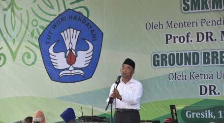 USB SMK Muhammadiyah 5, Mendikbud Sebut Konsep Riil Revitalisasi