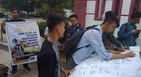 Peringati Setahun Great Return March, ACT Lampung Aksi di 10 Lokasi