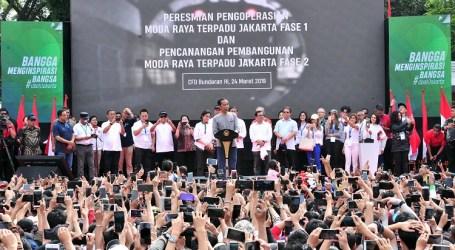 MRT Jakarta Tahap Pertama Resmi Beroperasi, Tahap Dua Mulai Dibangun