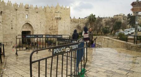 Israel Tutup Gerbang Al-Amud Masjid Al-Aqsha