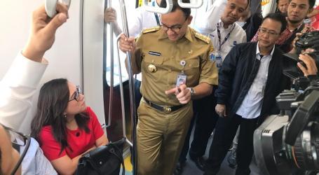 Selama April 2019, Tarif MRT Jakarta Diskon 50 Persen
