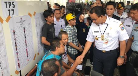 Pemprov DKI Jakarta Pantau TPS Pemilu 2019
