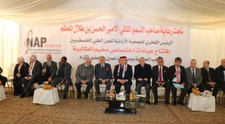 Pangeran Hassan Resmikan Klinik Bantuan BAZNAS untuk Pengungsi Palestina