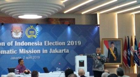 Sebanyak 170 Dubes Hadiri Sosialisasi Pemilu 2019 di KPU Pusat