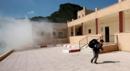 Pelajar Sekolah di Hebron Ditembak Gas Air Mata