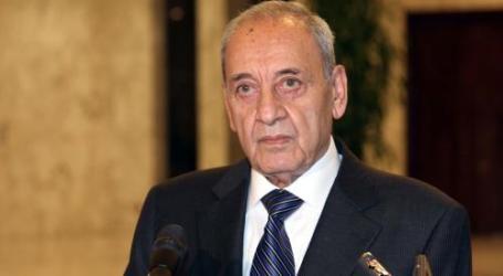 Ketua Parlemen: Libanon Tidak Akan Menyerahkan Airnya kepada Israel