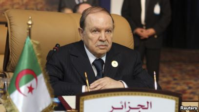 Presiden Aljazair Bouteflika Mengundurkan Diri