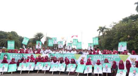 Sambut Ramadhan, BAZNAS Gelar Pawai Simpatik di Monas
