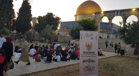 BAZNAS Sediakan Hidangan Berbuka Puasa di Masjid Al-Aqsa
