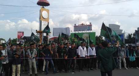 HMI Bandar Lampung Gelar Aksi Damai Selamatkan Umat dan Bangsa