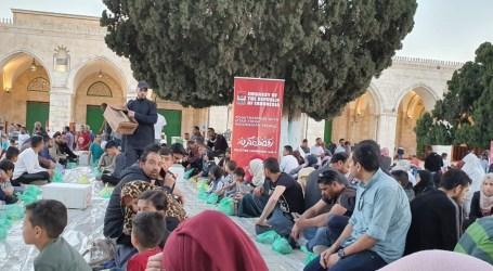 KBRI Amman Salurkan Paket Iftar Bagi Jamaah Masjid Al-Aqsa