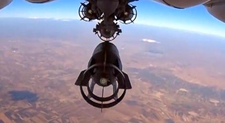 Serangan Udara Rusia Tewaskan 10 Warga Sipil di Suriah