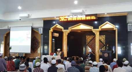 Gaung Al-Aqsha Haqquna dari Masjid Fathul Khoir Bontang
