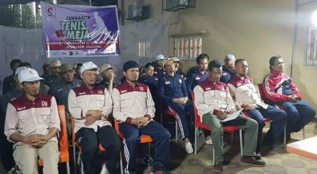 Relawan RSI Gaza Adakan Turnamen Tenis Meja