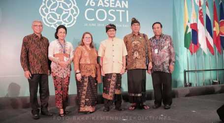 Kemenristekdikti Selenggarakan ASEAN COSTI ke-76 di Bali