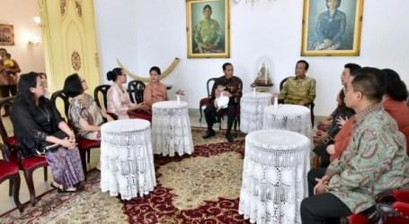 Jokowi Silaturahmi dengan Sultan Hamengkubuwono X di Keraton Yogyakarta