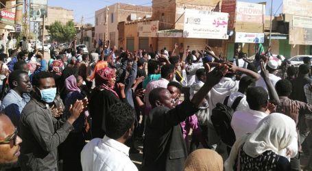 Pemrotes Sudan Ditembaki, Satu Tewas, 10 Luka
