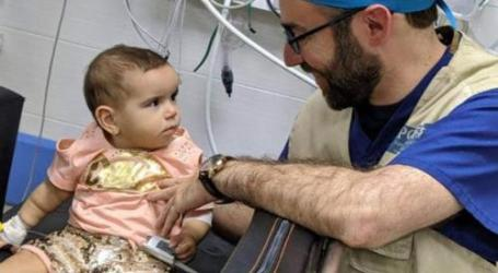 Tim Medis AS Keluarkan Peluru Israel dari Kepala Bayi Palestina