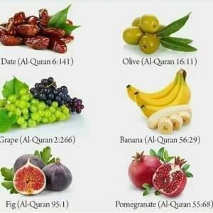 Enam Buah Dalam Al Qur An Dan Manfaat Bagi Kesehatan Bagian 1