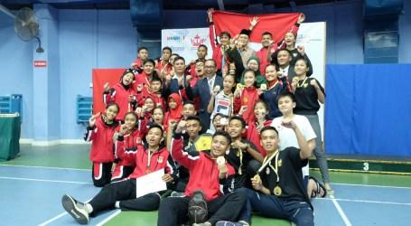 Indonesia Sabet Juara Umum Kejuaraan Karate Internasional di Brunei