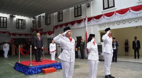 WNI di Vietnam Rayakan HUT RI ke-74 di KBRI Hanoi