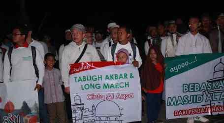Long March, Bentuk Dukungan Moril untuk Rakyat Palestina
