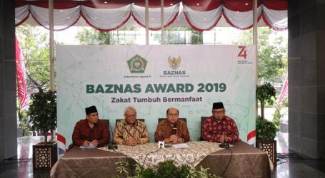 BAZNAS Award 2019 Pacu Kebangkitan Zakat Nasional
