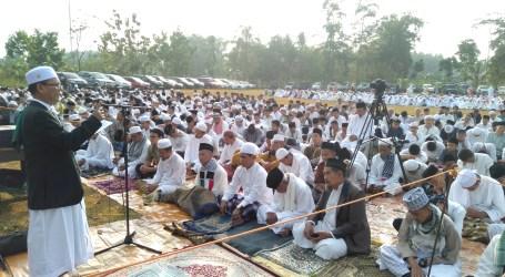 Khotib Iedul Adha Ponpes Al-Fatah Muhajirun Berikan Pesan Khusus Bagi Muslimat