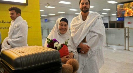 Jamaah Haji Keluarga Korban Teror Christchurch Tiba di Jeddah