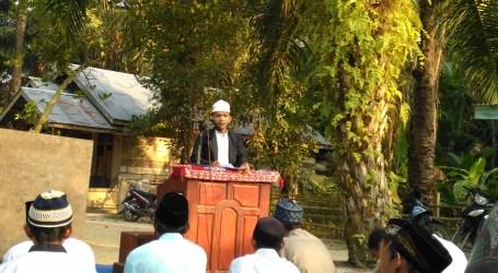Riyasah Kampung Baru Laksanakan Sholat Idul Adha